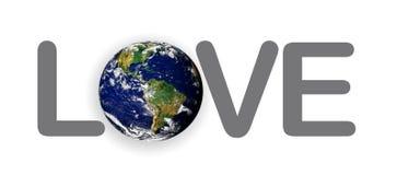La terre de planète d'amour le monde illustration libre de droits