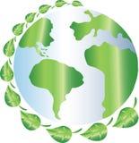 La terre de planète d'Eco Images libres de droits