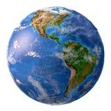 La terre de planète dans la haute résolution illustration libre de droits