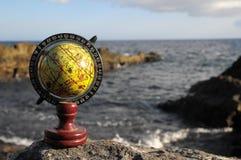 La terre de planète de globes de vintage Photographie stock