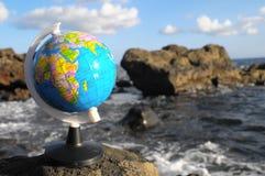 La terre de planète de globes de vintage Photos libres de droits
