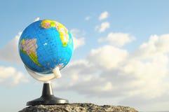 La terre de planète de globes de vintage Photo libre de droits