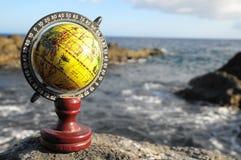 La terre de planète de globes de vintage Image libre de droits