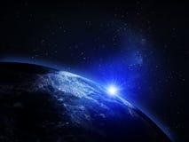 La terre de planète de l'espace Photographie stock
