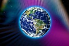 La terre de planète du monde illustration de vecteur