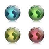 La terre de planète Illustration courante Photographie stock libre de droits