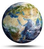 La terre de planète de l'espace rendu 3d Photo libre de droits