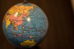 La terre de planète de l'organisme photographie stock libre de droits