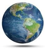 La terre de planète rendu 3d Photographie stock