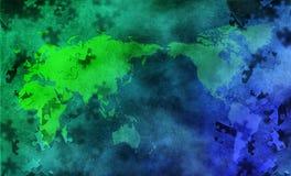 La terre de puzzle illustration de vecteur