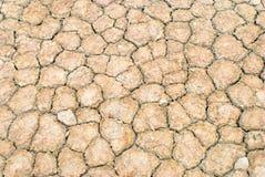 La terre de saleté de sécheresse Photographie stock libre de droits