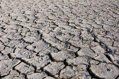 La terre de texture de désert, desséché et criquée Photographie stock libre de droits