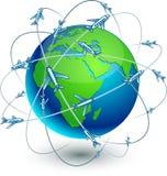 La terre de transmission - Afrique. illustration de vecteur