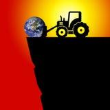 La terre en danger illustration de vecteur