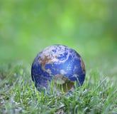 La terre en vert Image stock