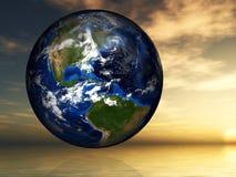 La terre, environnement, réchauffement global, paix, espoir Photos libres de droits