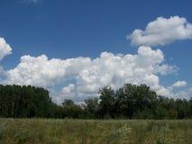 La terre et ciel Image stock