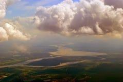 La terre et ciel Image libre de droits