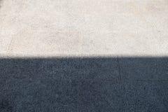 La terre extérieure avec le demi fond d'ombre image stock