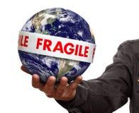 La terre fragile images libres de droits