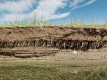 La terre, l'eau, ciel Photographie stock