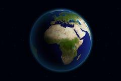 La terre - l'Europe Photographie stock