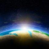 La terre Map Photo libre de droits