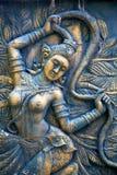 La terre phangan de dieux d'incision de Kho Bangkok Thaïlande en vert Photo stock