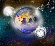 La terre protectrice Image libre de droits