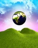 La terre radiante Illustration Libre de Droits