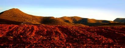La terre rouge Image stock
