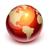La terre rouge Photographie stock libre de droits