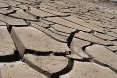 La terre sèche Photos stock