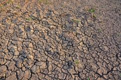 La terre stérile Séchez la terre criquée Configuration criquée de boue Sol en fissures Texture Creviced Terre de sécheresse Séche Photos stock