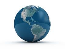 La terre sur l'étage Image libre de droits
