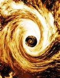 La terre a tiré dans le trou noir Supermassive illustration libre de droits