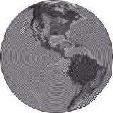 La terre Uzumaki de guilloche Image stock