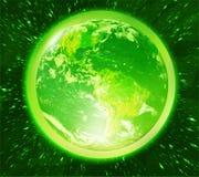 La terre verte Photographie stock libre de droits