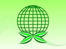 La terre verte Photos stock