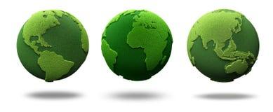 La terre verte Images stock