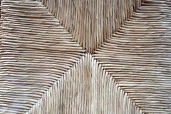 La tessitura delle fronde della palma Fotografie Stock