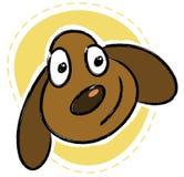 la testa del cane Immagini Stock Libere da Diritti