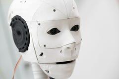 La testa del robot Fotografia Stock