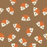 La testa foxes il modello Fotografia Stock
