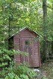 La tettoia di legno fotografie stock libere da diritti