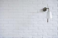 La textura blanca de Misty Brick Wall Background Or con apaga el sujetador Fotografía de archivo