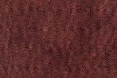 La textura Borgoña Terry hizo punto imagen de archivo libre de regalías