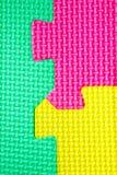 La textura colorea rompecabezas Imagenes de archivo