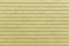 La textura de la estera de Tatami, buena para el fondo Fotos de archivo