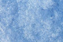 La textura de la nieve Fotografía de archivo libre de regalías